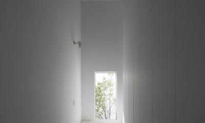 インナーバルコニーのある家 OUCHI-25 (玄関ホール)