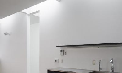 インナーバルコニーのある家 OUCHI-25 (オーダーキッチン)
