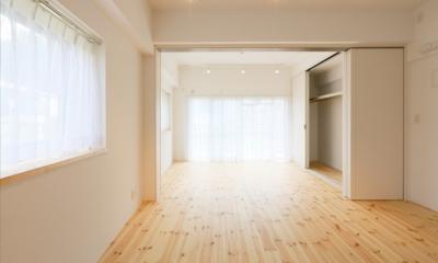 主人公のアパート (寝室)