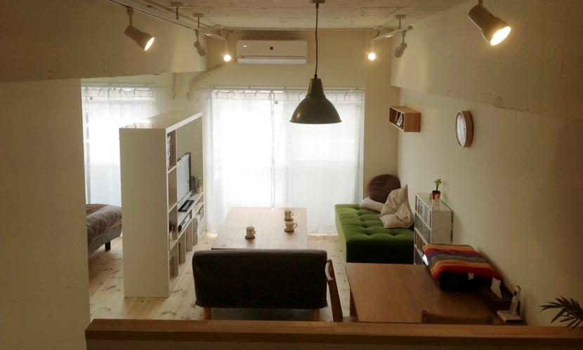 YAON(屋音)の部屋 リビング~寝室
