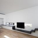 インナーバルコニーのある家 OUCHI-25の写真 リビングAV家具