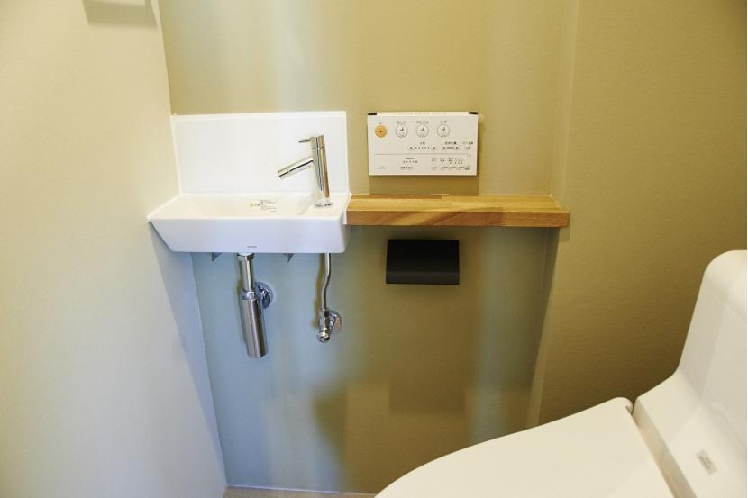 幕の内houseの部屋 トイレ