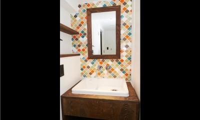 洗面所 (お気に入りCafeに住む)