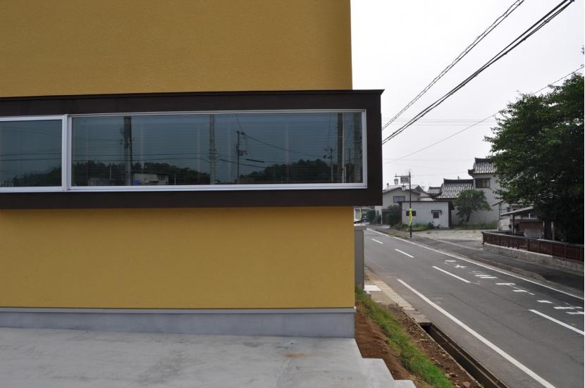 Sハウスの部屋 外観窓