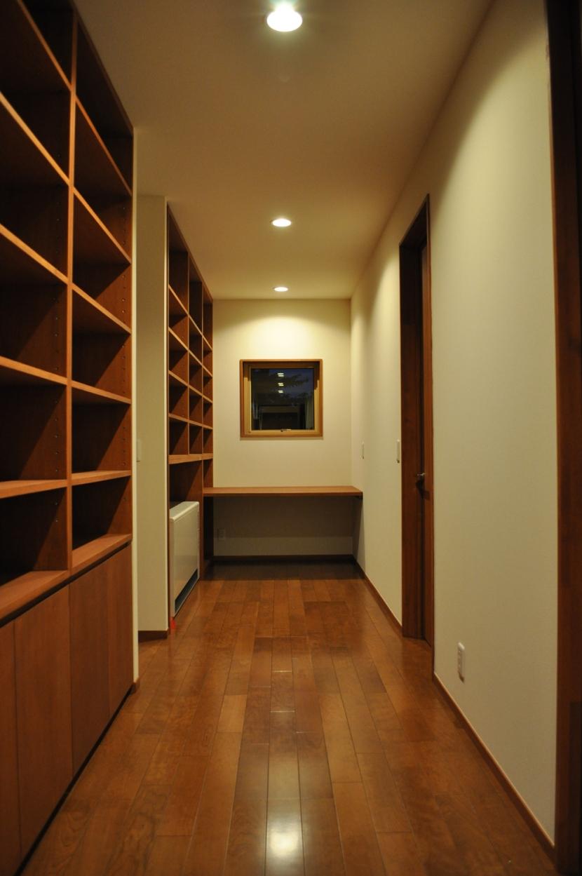 Sハウスの部屋 ライブラリースペース