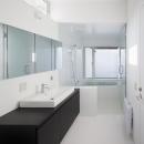 インナーバルコニーのある家 OUCHI-25の写真 浴室