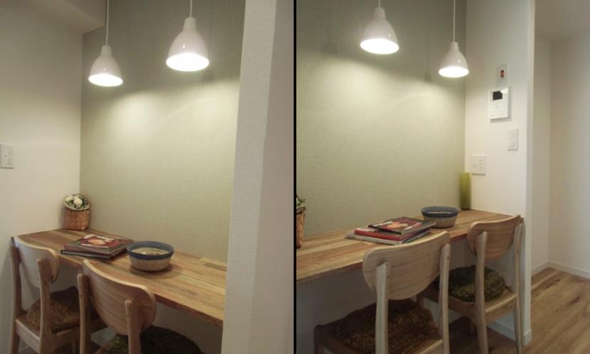 ちょっとした書斎の部屋 書斎スペース