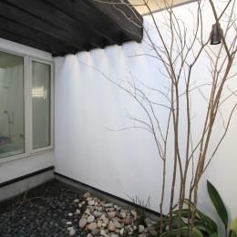 オウチ25・インナーバルコニーの家 (浴室の光庭)