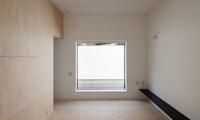 インナーバルコニーのある家 OUCHI-25 (主寝室)