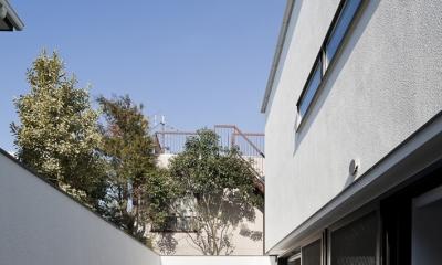 インナーバルコニーのある家 OUCHI-25 (プライベートコート)