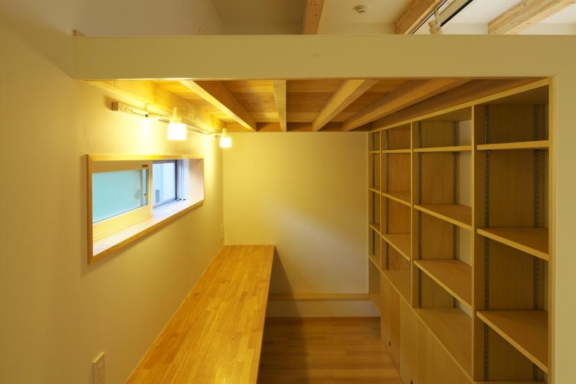 Mハウスの部屋 書斎