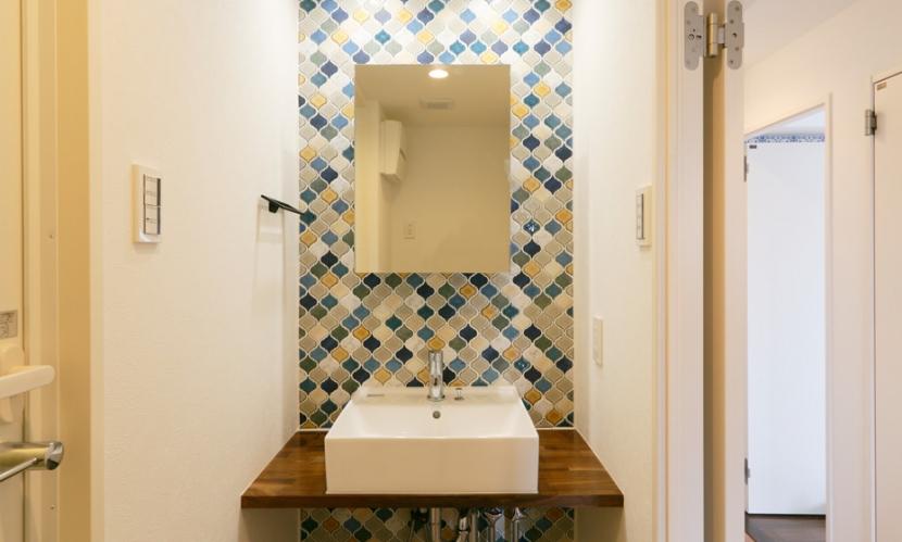 CUBE×CUBE=マトリョーシカの部屋 洗面所