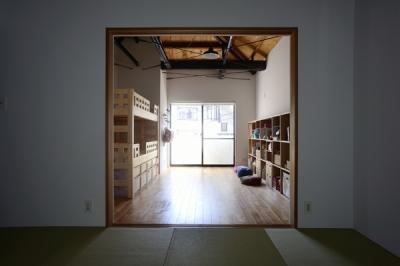 部屋続き子供部屋 (62.石川町の部屋)