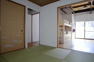 子供部屋続きの部屋 (62.石川町の部屋)