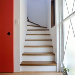 62.石川町の部屋 (階段)
