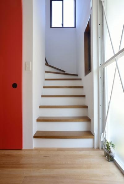 階段 (62.石川町の部屋)