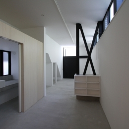 ハコノオウチ01・版画アトリエのある家