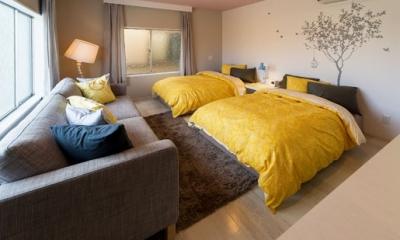 SooS house (2Fのベッドルーム)