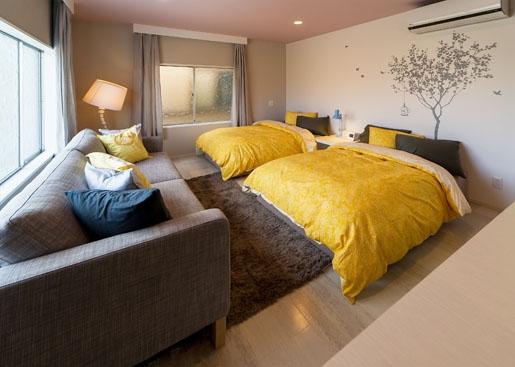 SooS houseの部屋 2Fのベッドルーム