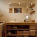 G邸・築60年の風合を新しい型で受け継ぐの写真 洗面所