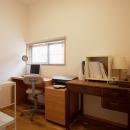 G邸・築60年の風合を新しい型で受け継ぐの写真 2F書斎