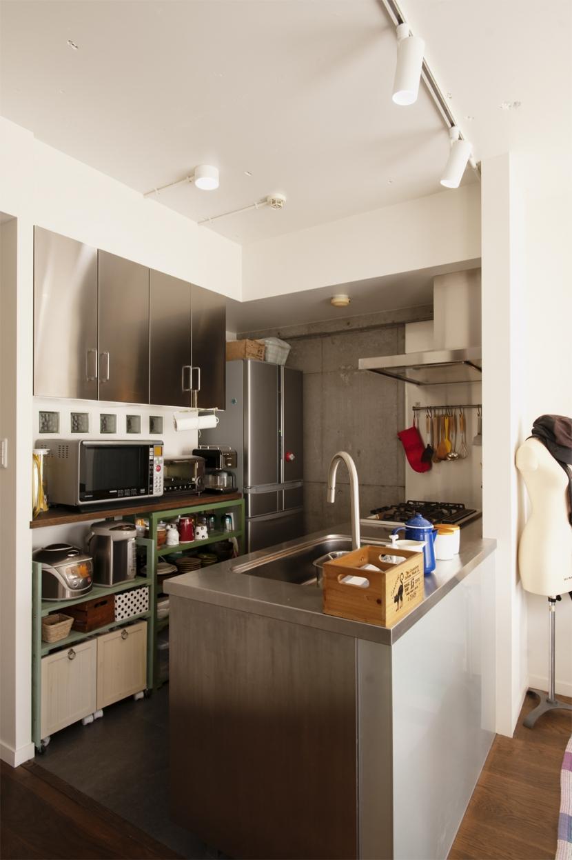 K邸・マンションでもノスタルジーを感じる住まいにの部屋 キッチン
