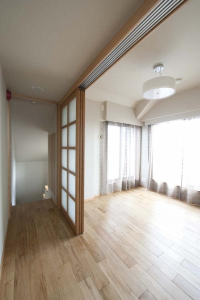 部屋 (KU邸・木のぬくもりを感じる家)