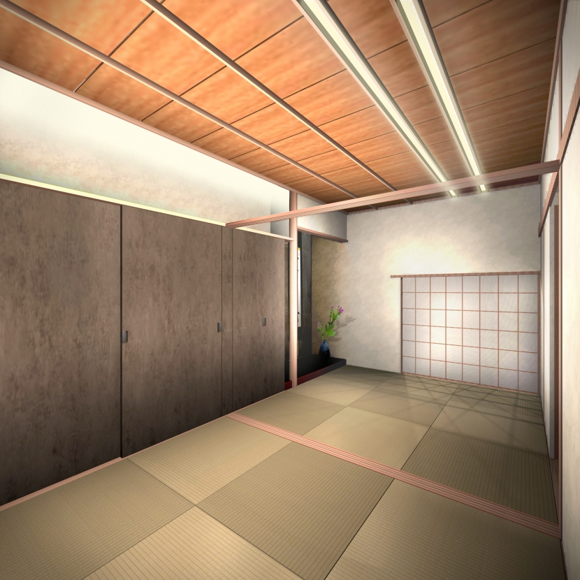 平野区のリノベーションの写真 和室