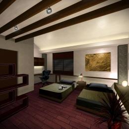 平野区のリノベーション (寝室)