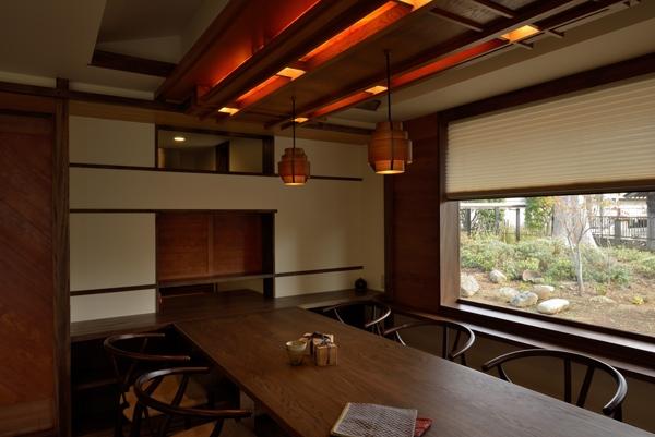 和に合う、ミッドセンチュリー家具との住空間の部屋 ダイニング