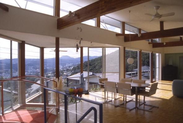 百景楼-海の別荘の部屋 眺望を取り込む