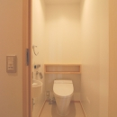 2世帯の程よい距離の写真 トイレ