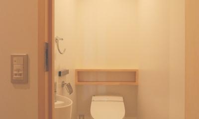 2世帯の程よい距離 (トイレ)