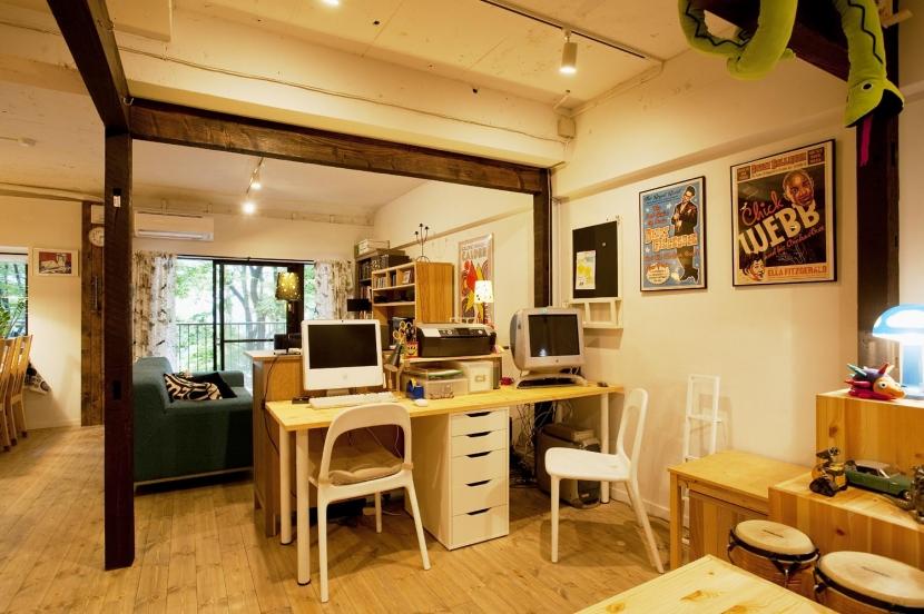 N邸・大人も子どもも元気にワクワク遊ぶ家の写真 書斎スペース