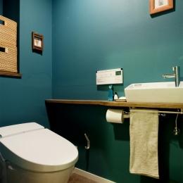 N邸・大人も子どもも元気にワクワク遊ぶ家 (トイレ)