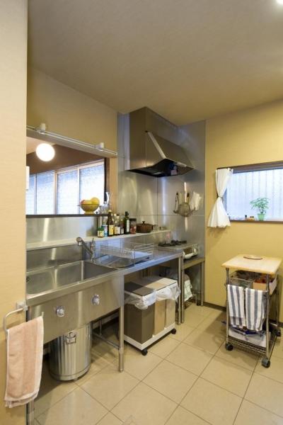 キッチン (I邸・昭和レトロ喫茶風)