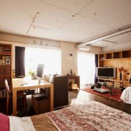 リノベーション・リフォーム会社 スタイル工房の住宅事例「kg邸・旅の思い出を飾る壁面収納」