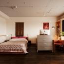 ベッドスペース・書斎スペース