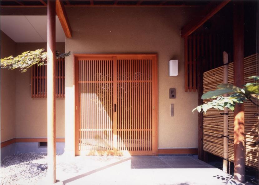 和風平屋の住まいの写真 和風玄関