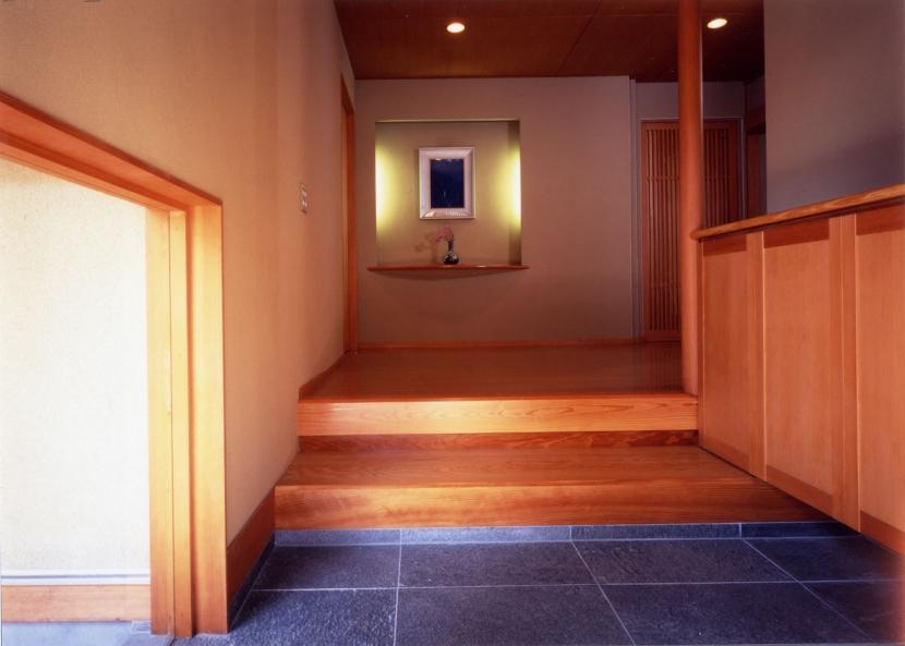 和風平屋の住まいの写真 玄関ホール