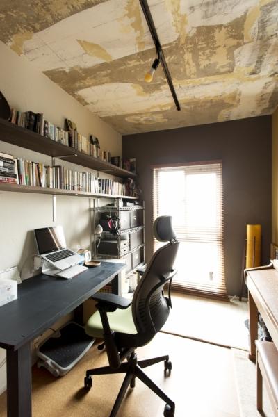 書斎2 (n邸・どこか懐かしい雰囲気に包まれて暮らす)