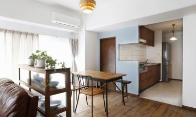 ダイニングキッチン|S邸・Shine&colorful HOME