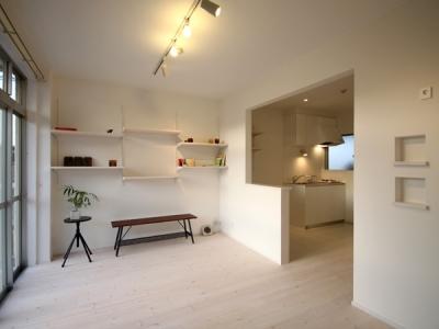 @ajito~白い壁と白い床~ (1K部屋)
