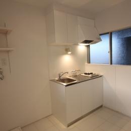@ajito~白い壁と白い床~ (キッチン)