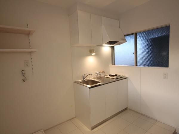 @ajito~白い壁と白い床~の部屋 キッチン