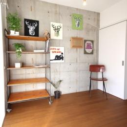 ベッドルーム(リビング続き) (HAKUZANSOU~白山荘~)