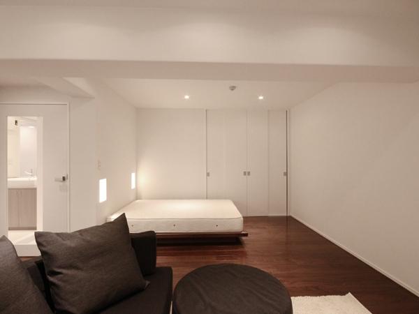 WNYの部屋 リビング(ベッドスペース)