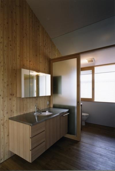 トイレ (谷和原のいえ)