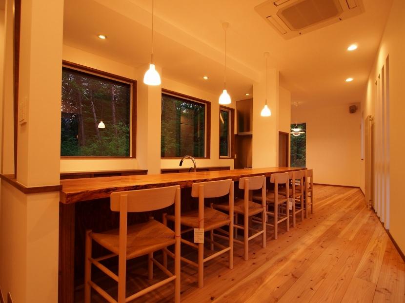 軽井沢 食癒の家の部屋 ダイニング