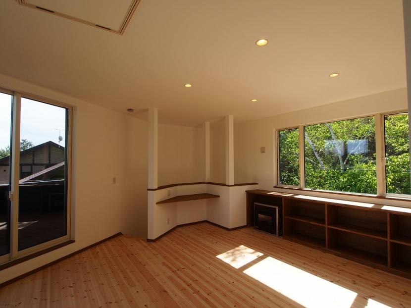 軽井沢 食癒の家の部屋 リビング